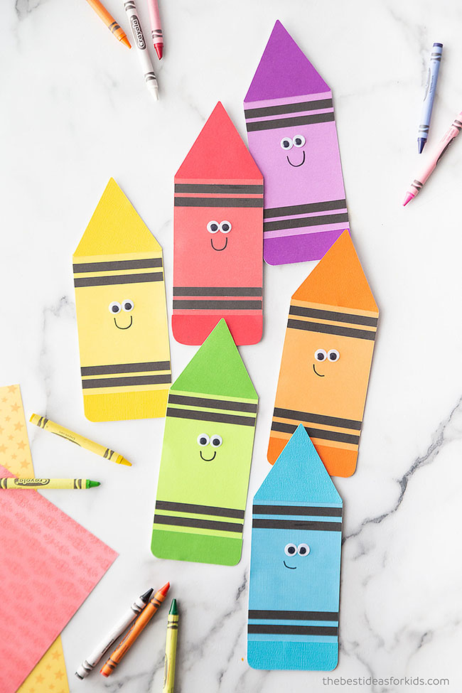Crayon Template Card Printable