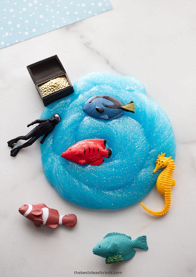 Ocean Slime for Kids
