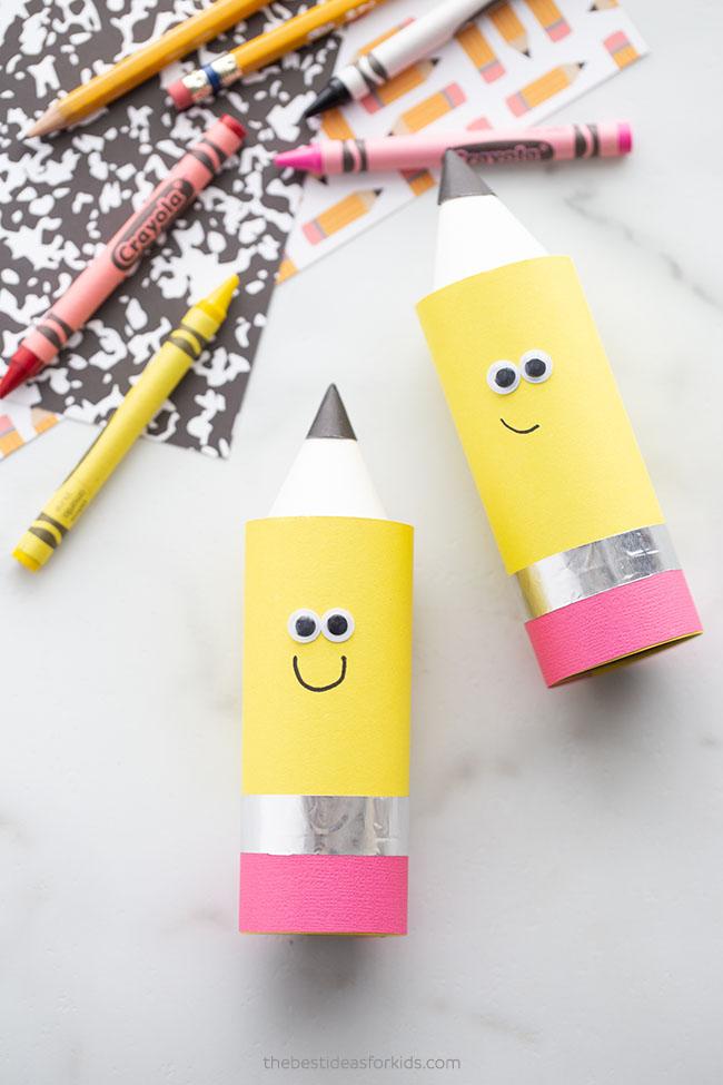 Paper Roll Pencil