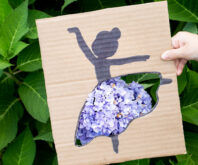 Cardboard Ballerina