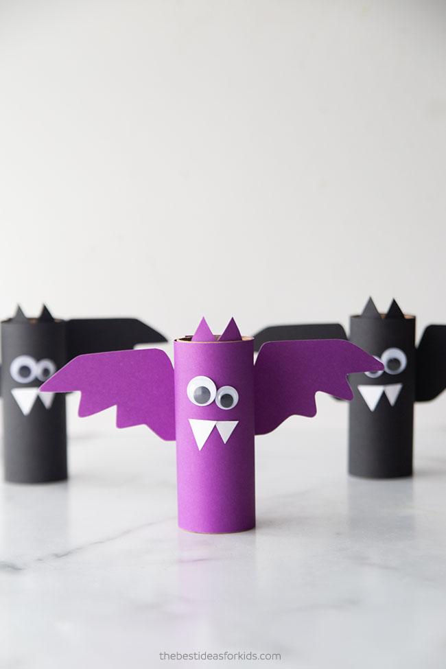 Paper Roll Bat Craft