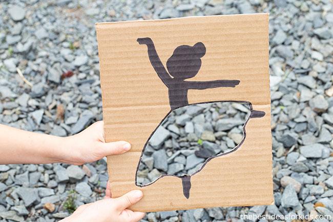 Stone Ballerina Cutout