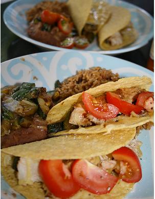 Easy Chicken Tacos Recipe