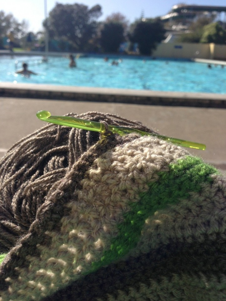 Crochet By The Pool