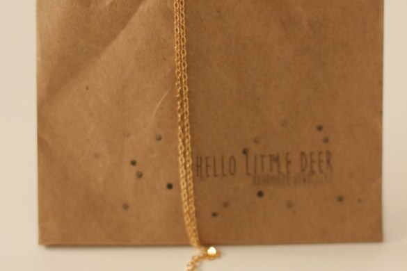 Hello Little Deer Necklace