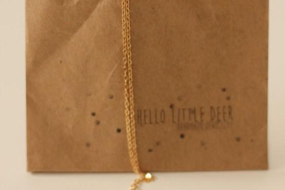 Hello Little Deer Necklace