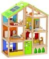 Wooden Toy Box Furnished Doll House Mummy Blog NZ
