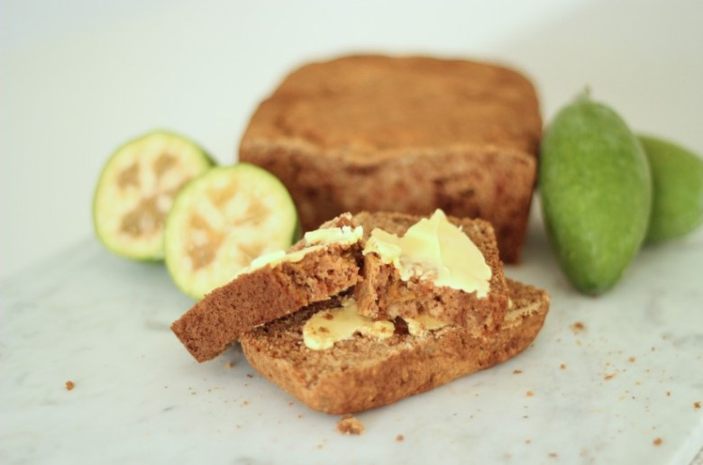 Sugarfree Feijoa Loaf Recipe Blog NZ