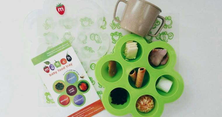 Munch Reviews | Baby Food Tray + Giveaway