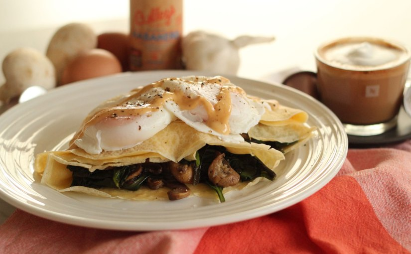 Cook, Eat | Savoury Breakfast Crepe Recipe