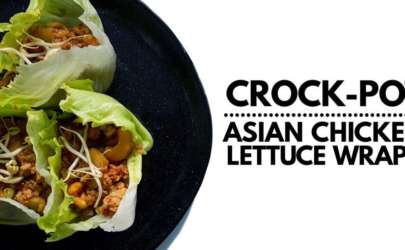 Crock-Pot Asian Chicken Lettuce Wraps Recipe