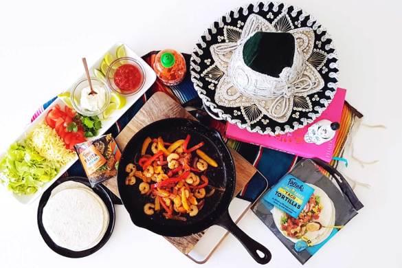 New Zealand's Top Mummy Blogger Parenting Travel Blog Family Shrimp Fajitas Recipe