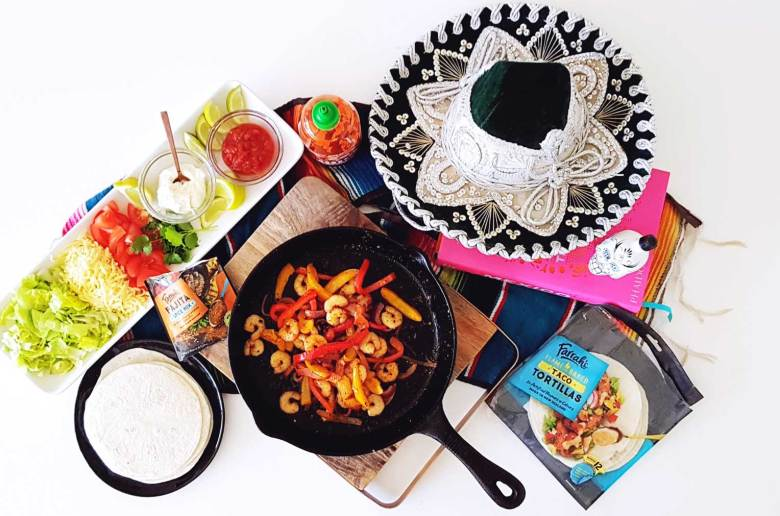 New Zealand's Top Mummy Blogger Parenting Travel Blog Family Shrimp Fajitas Recipe