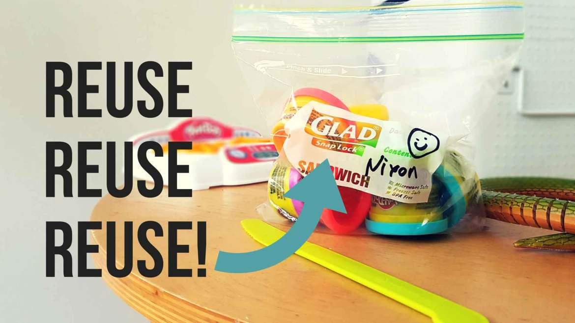 New Zealand's Top Mummy Blogger Parenting Travel Blog Family yarns Reuse Recycle Glad Sandwich Bags