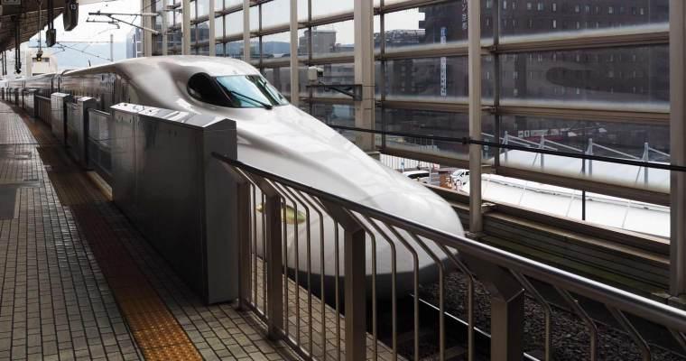 Family Travel Japan:  Tokyo > Kyoto on the JR Shinkansen Bullet Train
