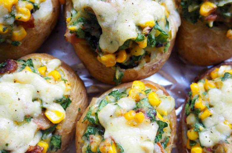 New Zealand's Top Mummy Blogger Parenting Travel Blog Family Twice Baked Potatoes Recipe