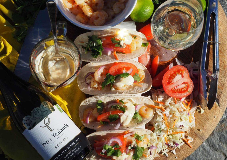 New Zealand's Top Travel Lifestyle Blog Prawn Shrimp Tacos Recipe