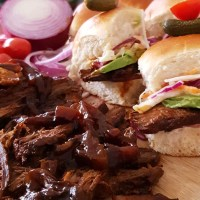 Cook, Eat - Beef Brisket Sliders Recipe