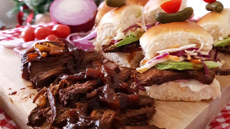 Beef Brisket Slider Recipe