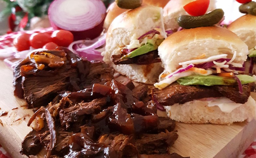 Cook, Eat – Beef Brisket Sliders Recipe