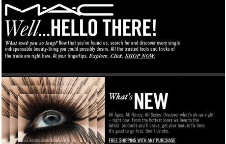 Mac Welcome Email