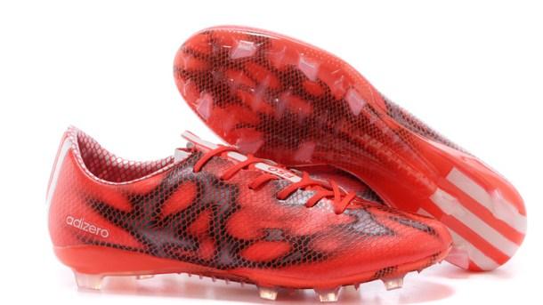 beste schoenen aliexpress professionele verkoop Adidas F50 Solar Red adiZero - The Best Soccer Cleats