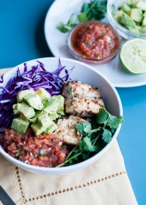 Pan-Seared Cumin-Lime Barramundi Rice Bowls