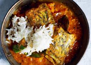 Sri Lankan Tomato Fish Curry