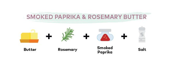 Australis Barramundi - 5 Simple Butter Recipes That are Perfect for Fish - Smoked Paprika Rosemary