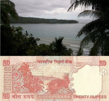 Image result for andaman and nicobar islands 20 rupee note