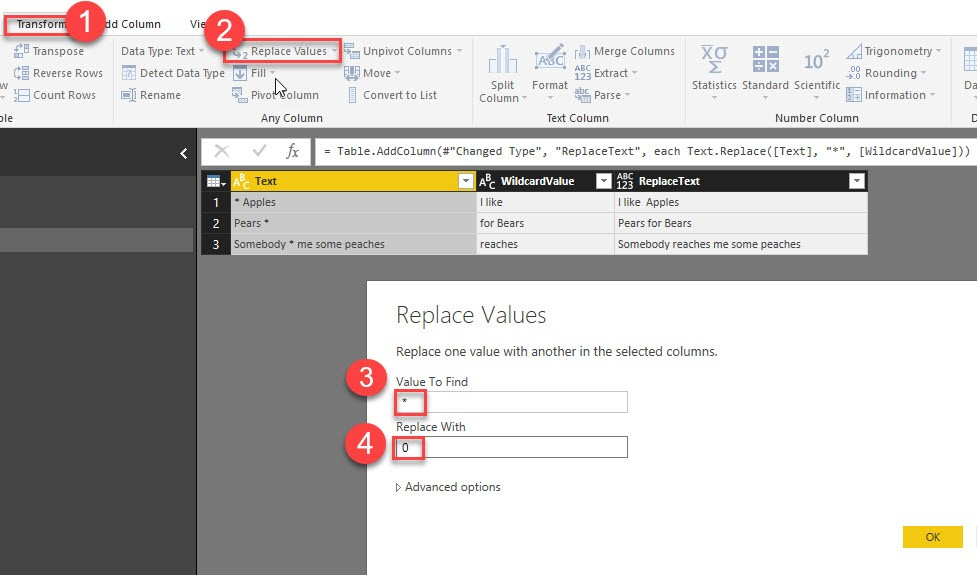 Table TransformColumns - alternative in PowerBI and PowerQuery in