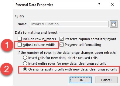 Stretching and Compressing Time Series with Power Query and