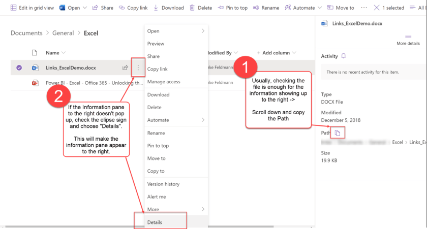 Improve File Import from SharePoint in Power BI and Power Query