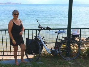 A fellow 50-something lone female bummler travelling across Europe by electric bike (a brilliant idea I desperately wish had occurred to me). Her mother tried to ban her from leaving, too.