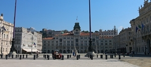 Central square in Trieste
