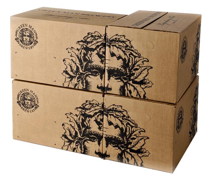 Green Man Mother Carton Design