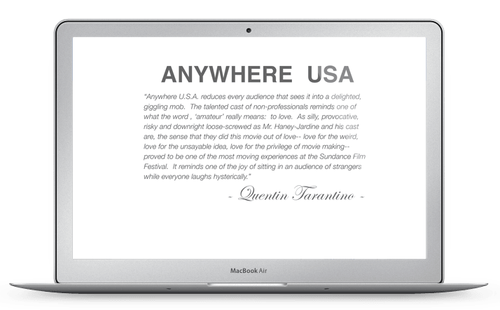 Anywhere USA Website Design