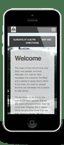 City Church Mobile Design