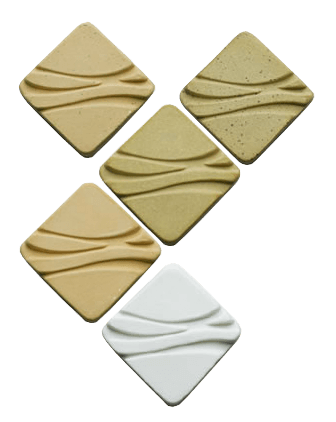 High Water Clays 3D Identity Tiles