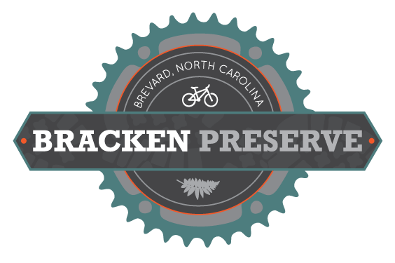 Bracken Preserve, Brevard, NC Logo