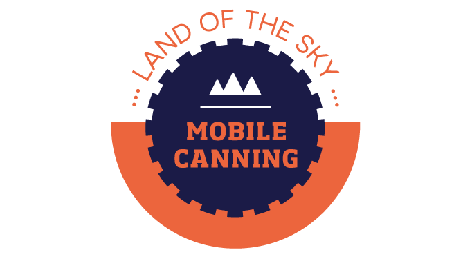 Land of the Sky Mobile Canning Logo