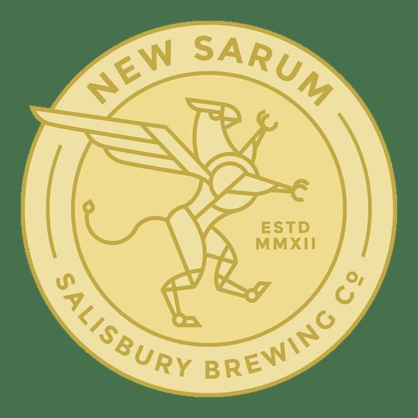 New Sarum Brewing Company Alternate Logo Color Web
