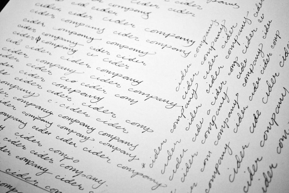 Gypsy Circus Cider Company Script variations