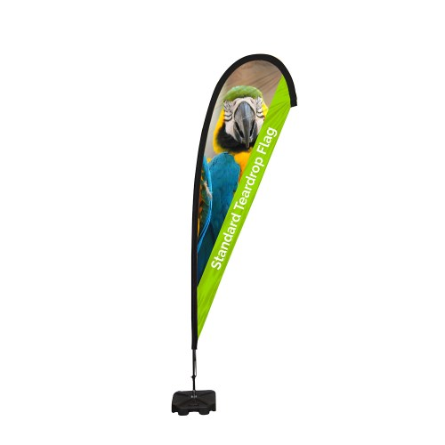 Standard Teardrop Flag - The Big Display Company