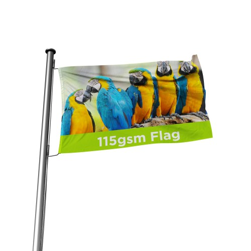 115gsm Printed Outdoors Flag - The Big Display Company