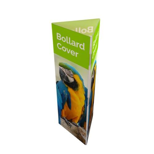 Printed Correx Bollard Covers - The Big Display Company