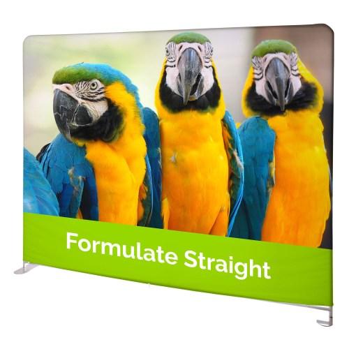 Formulate Straight Fabric Display - The Big Display Company