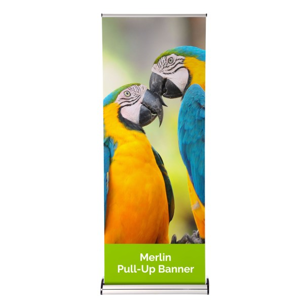 Merlin Interchangeable Roller Banner - The Big Display Company