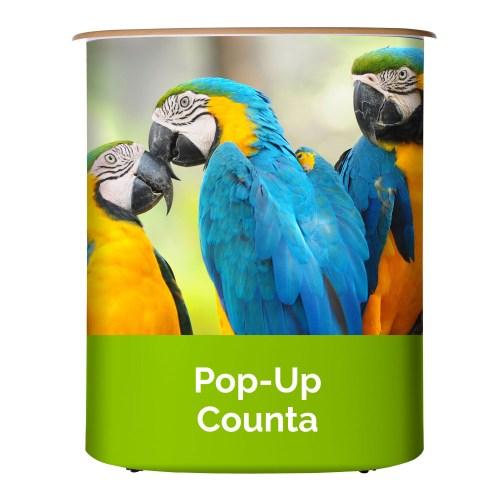 Custom Pop Up Counter - The Big Display Company