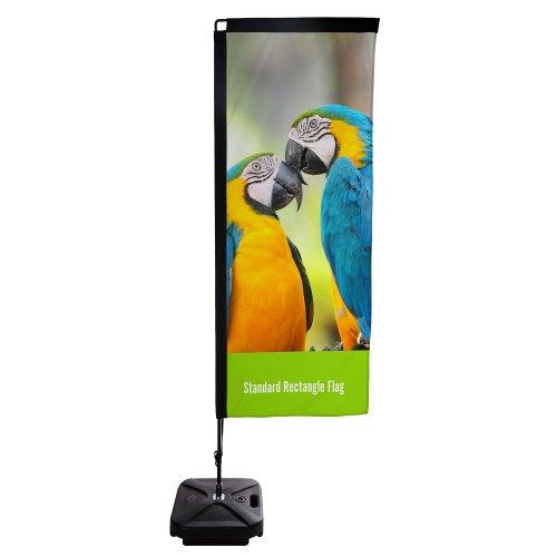 Standard Rectangle Flag - The Big Display Company